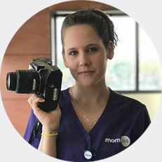 Mom365 employee testimonial: Samantha, Photographer
